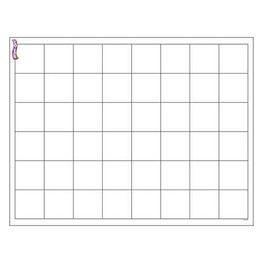 T27306 Wipe Off Chart Graphing Grid