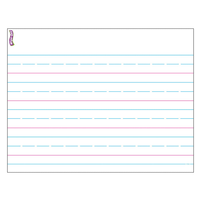 T27307 Wipe Off Chart Handwriting Paper