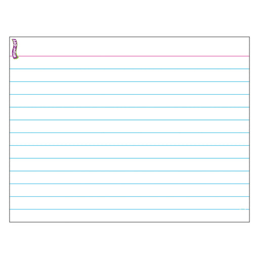 T27309 Wipe Off Chart Index Card