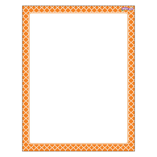 T27325 Wipe Off Chart Moroccan Orange