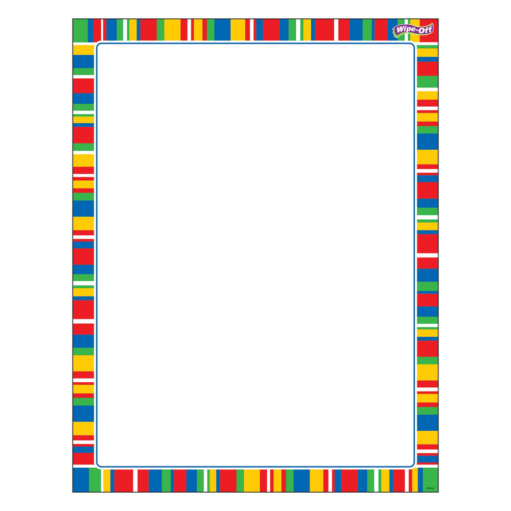 T27343 Wipe Off Chart Stripe Candy