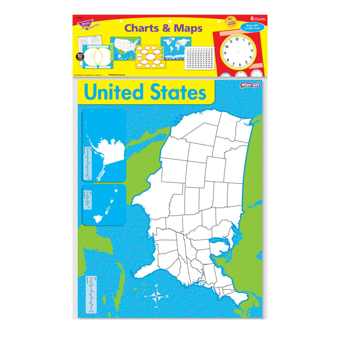 T27905 Wipe Off Pack Charts Maps Package