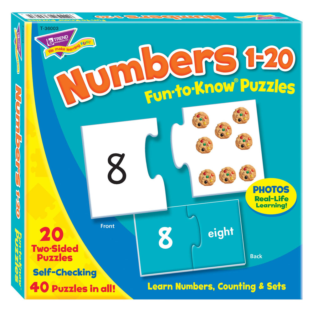 T36003 Puzzle Numbers Box Front