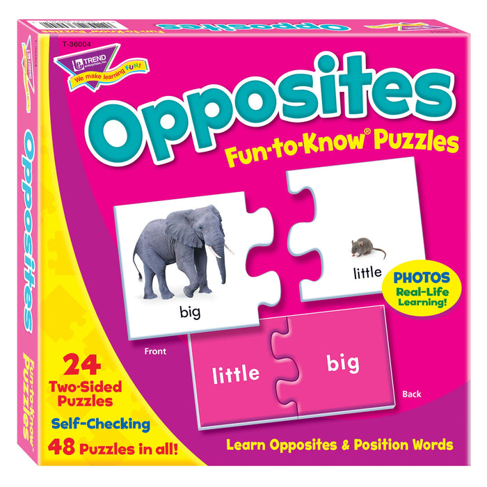 T36004 Puzzle Opposites Box Front