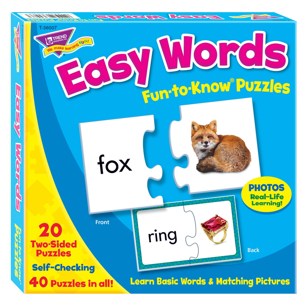 T36007 Puzzle Easy Words Box Front