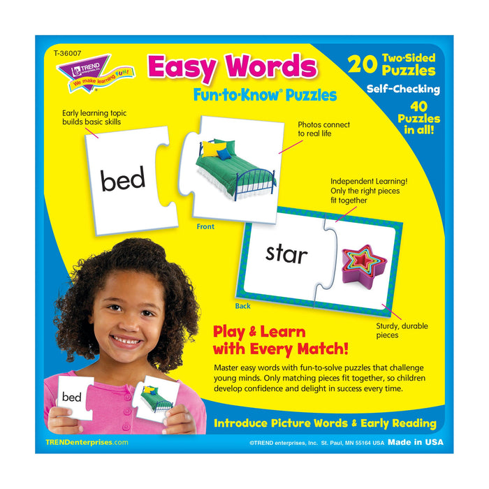 T36007 Puzzle Easy Words Box Back