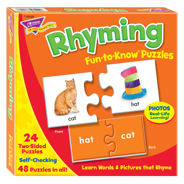 T36009 Puzzle Rhyming Box Front