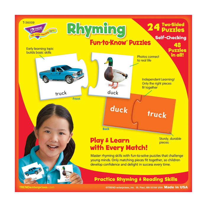 T36009 Puzzle Rhyming Box Back