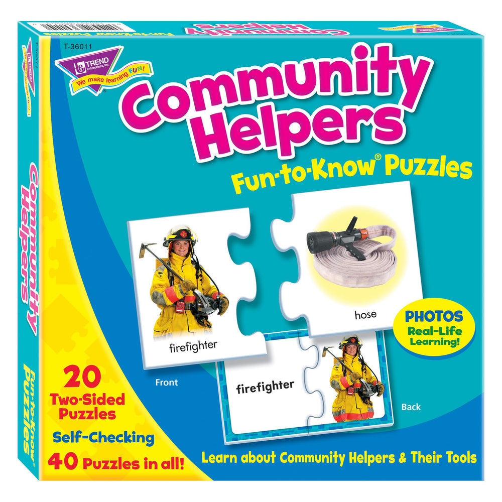 T36011 Puzzle Community Helpers Box Front