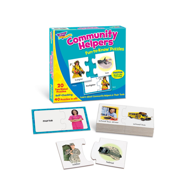T36011 Puzzle Community Helpers