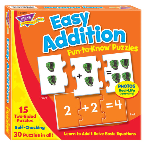 T36013 Puzzle Easy Addition Box Front
