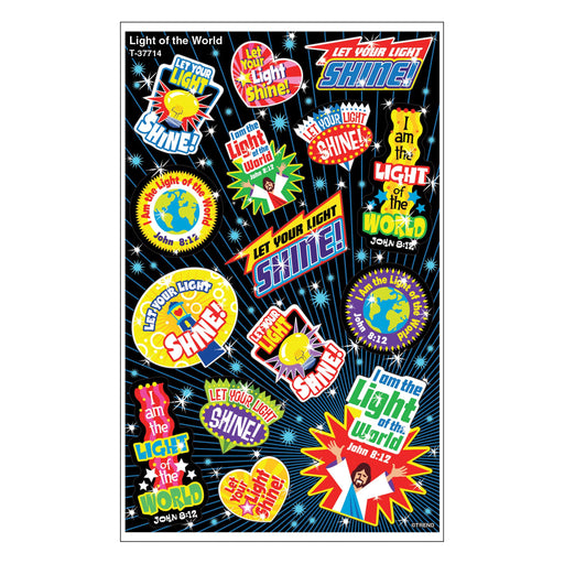 T37714 Stickers Foil Light World