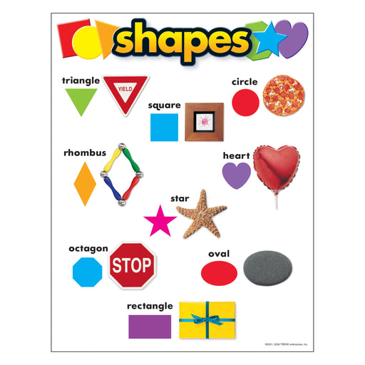 T38009 Learning Chart Shapes