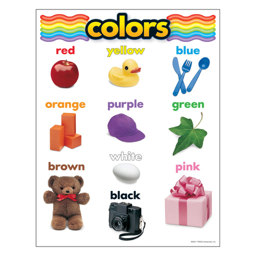 T38025 Learning Chart Colors