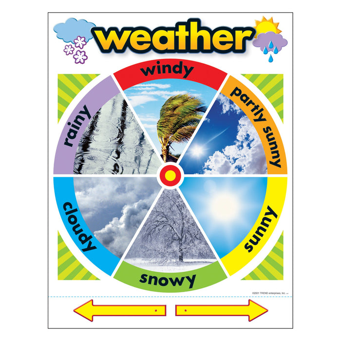 T38046 Learning Chart Weather Factors