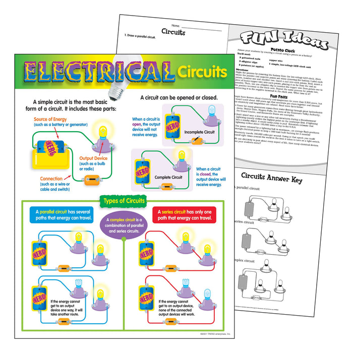 T38052 Learning Chart Electricity