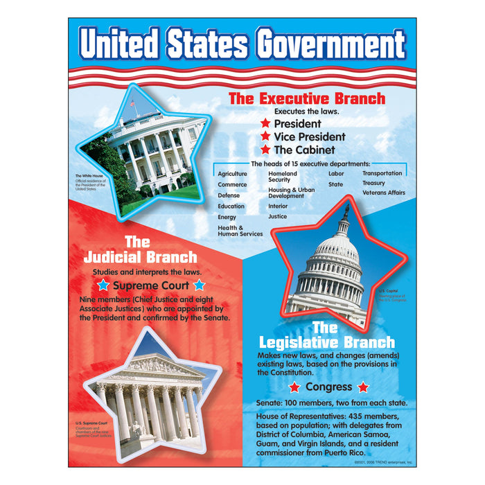 T38065 Learning Chart United States Government