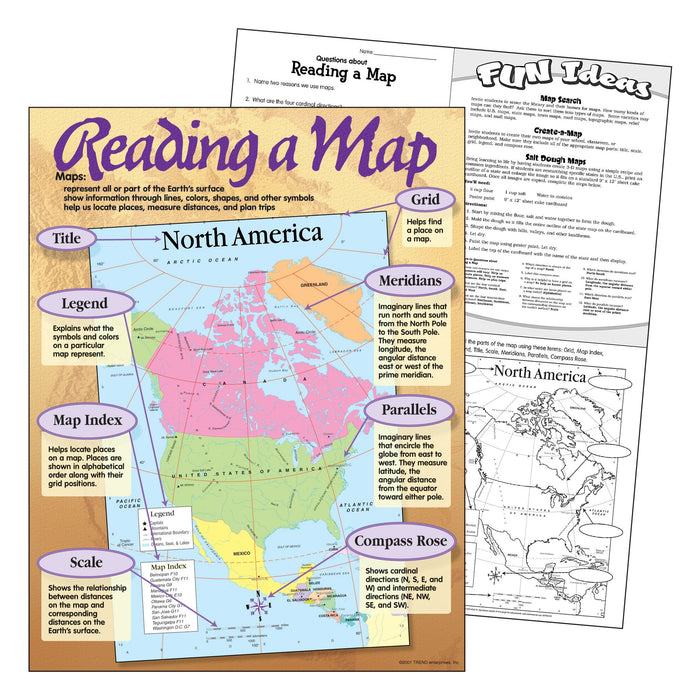T38066 Learning Chart Reading a Map