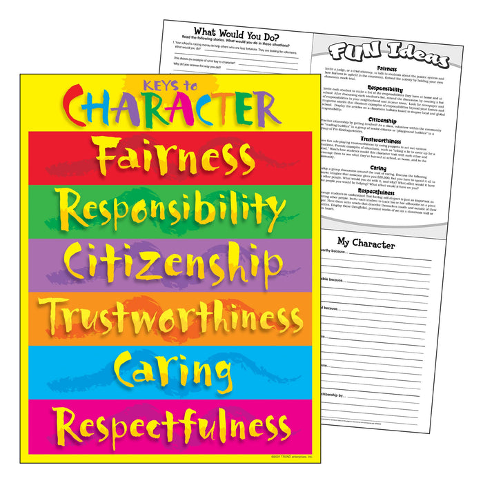 T38074 Learning Chart Keys Character