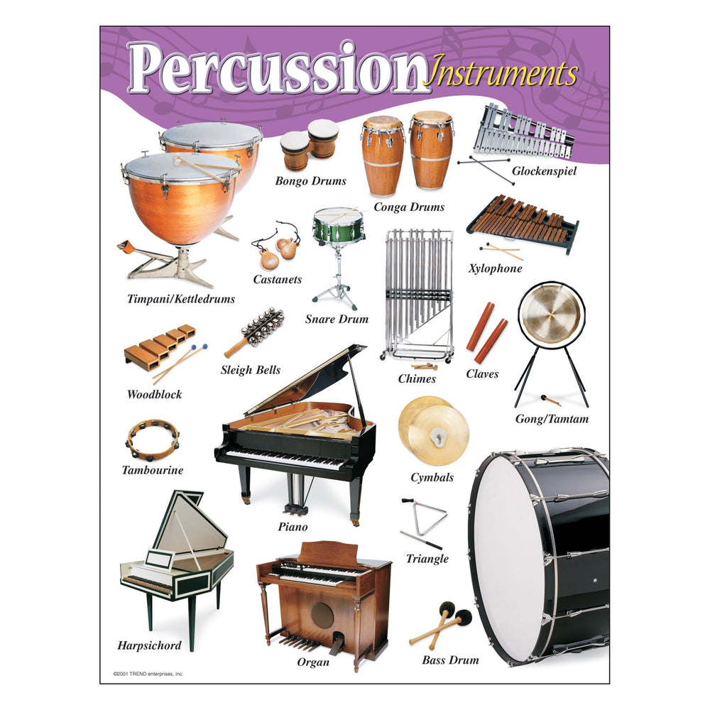 T38102 Learning Chart Percussion