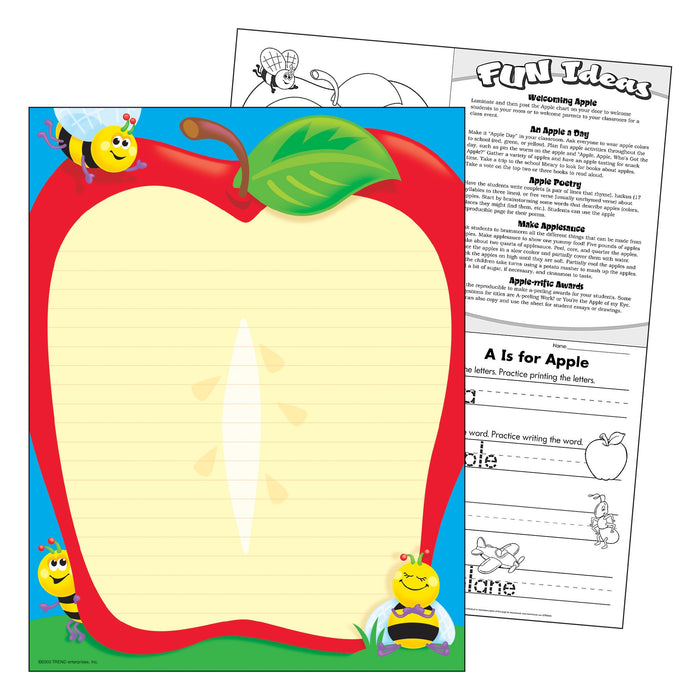 T38106 Learning Chart Apple