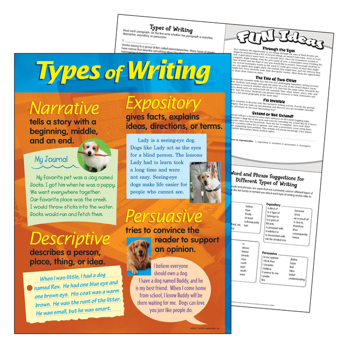 T38128 Learning Chart Types Writing