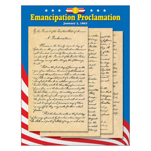 T38277 Learning Chart Emancipation Proclamation