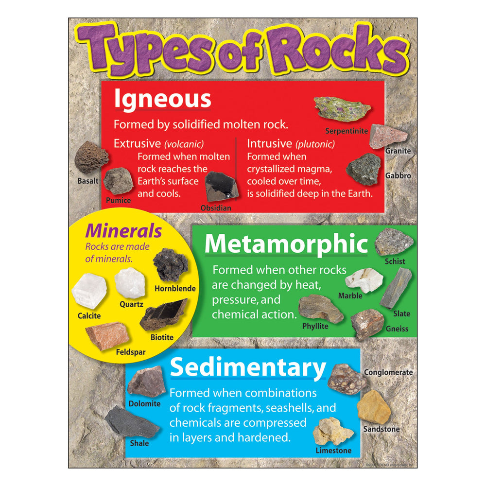 T38299 Learning Chart Types Rocks