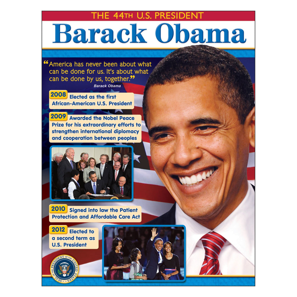 T38307 Learning Chart President Obama