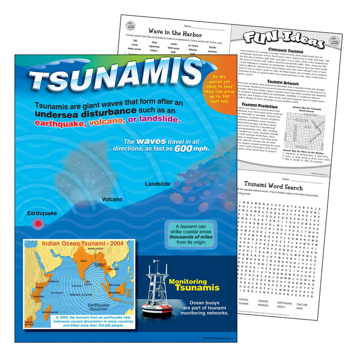 T38325 Learning Chart Tsunami
