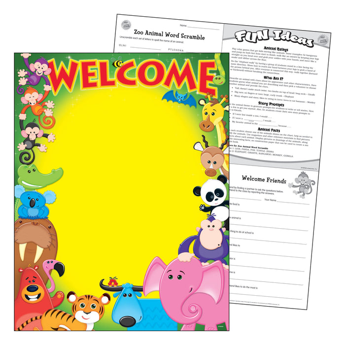 T38335 Learning Chart Welcome
