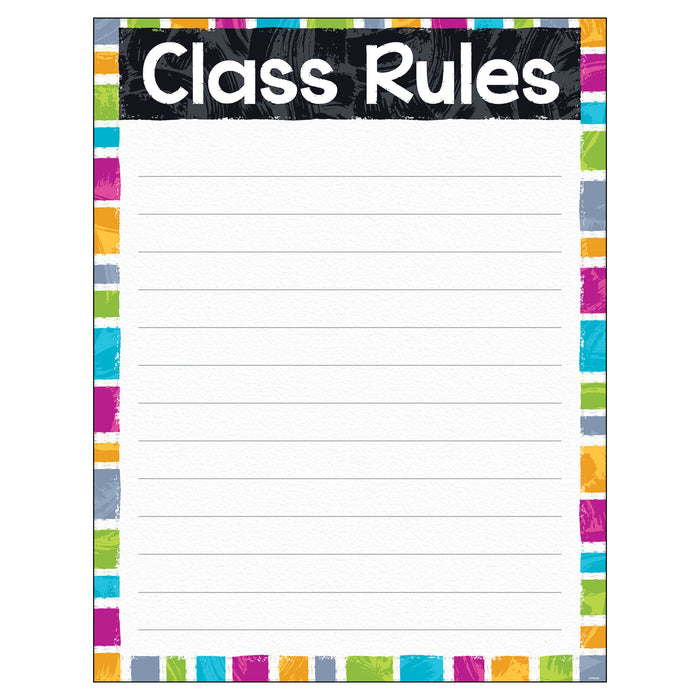 Class Rules Color Harmony™ Learning Chart