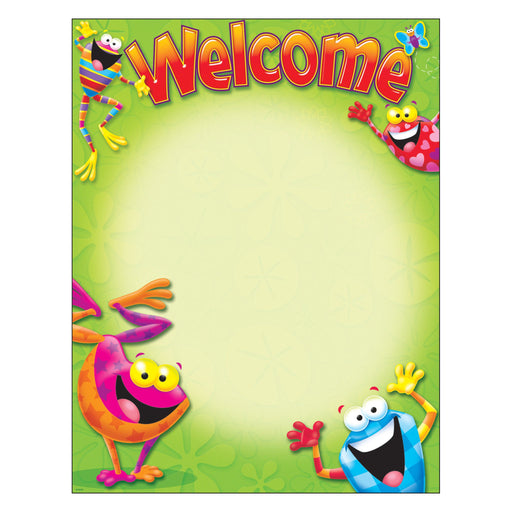 T38413 Learning Chart Welcome Frogs