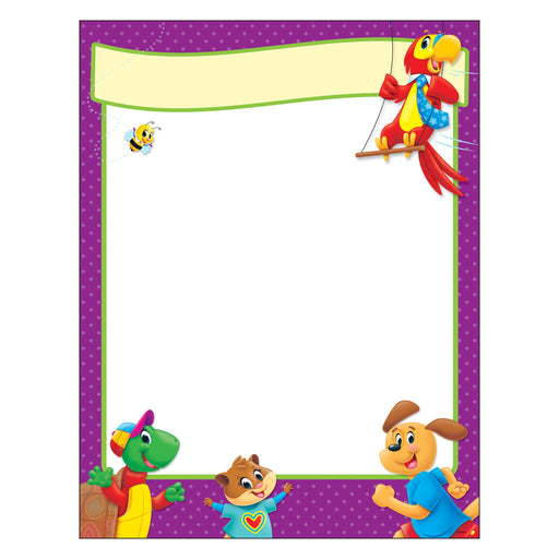 T38457 Learning Chart Blank Playtime Pets