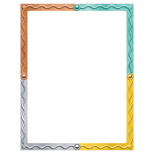 Blank I ♥ Metal™ Learning Chart