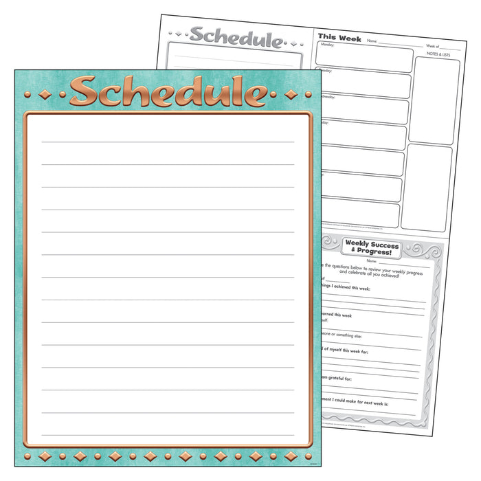 Schedule I ♥ Metal™ Learning Chart