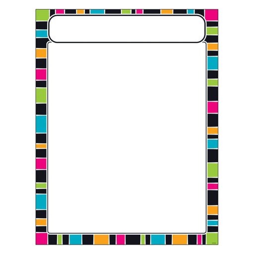 T38636 Learning Chart Stripe Groovy
