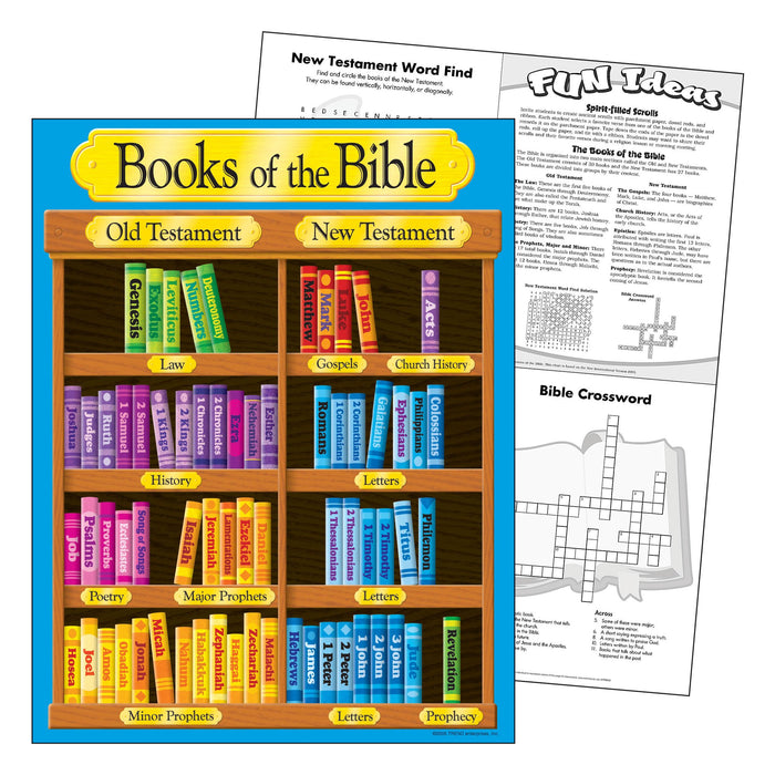 T38702 Learning Chart Books Bible