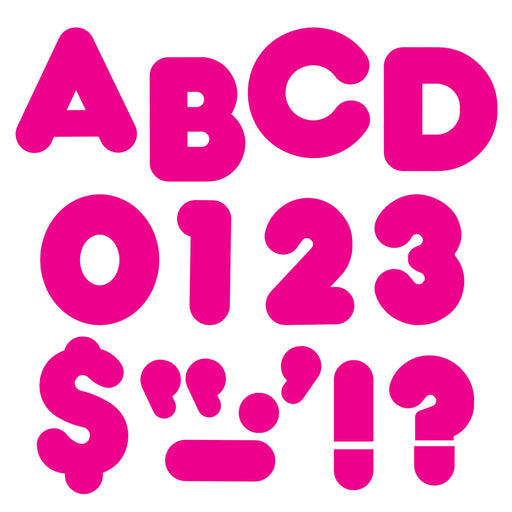 T438 Letters Inch Casual Pink