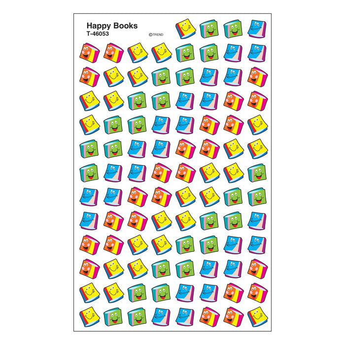 T46053 Stickers Chart Happy Books
