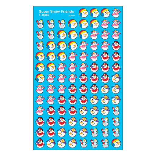 T46065 Stickers Chart Super Snow Friend