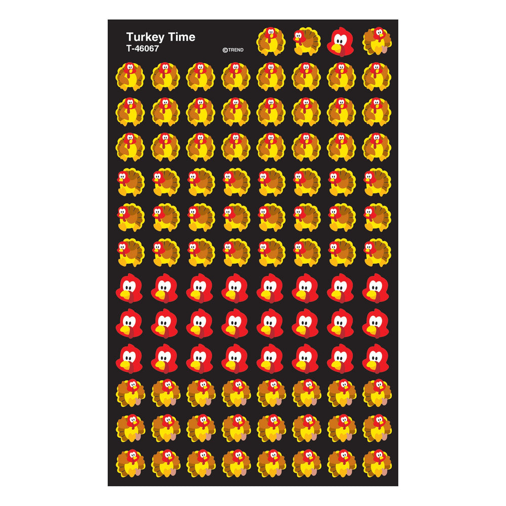 T46067 Stickers Chart Turkey Time