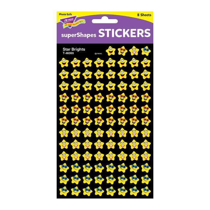 T46069 Stickers Chart Star Bright Smiles Package