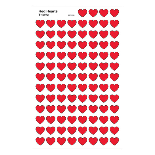 T46072 Stickers Chart Red Hearts
