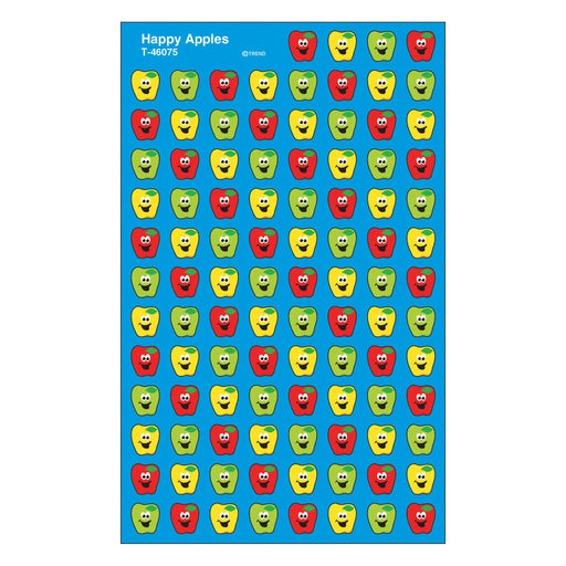 T46075 Stickers Chart Happy Apples