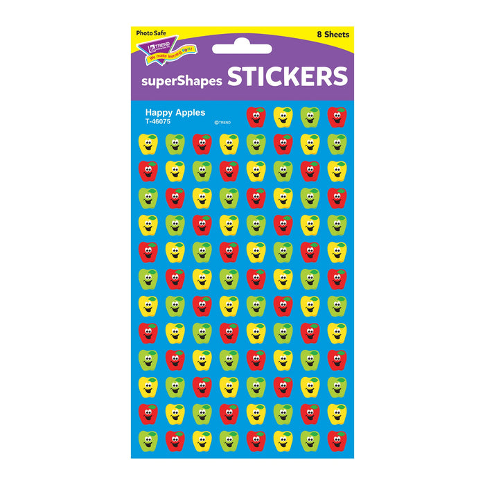 T46075 Stickers Chart Happy Apples Package