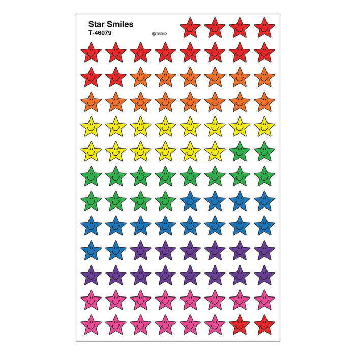 T46079 Stickers Chart Star Smiles