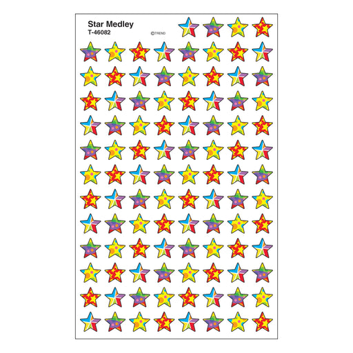 T46082 Stickers Chart Star Medley