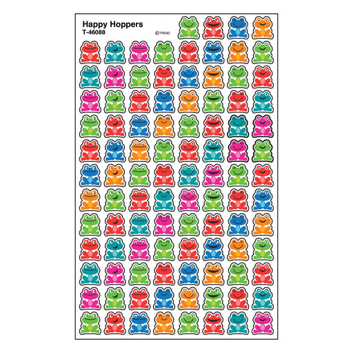 T46088 Stickers Chart Happy Frogs