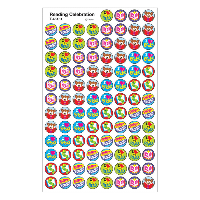 T46151 Stickers Chart Read Celebrate
